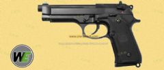 M92 Full auto (Black Full Metal,no Marking) by WE